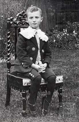 Dudley Keverne Gaskill aged 6, c.1890s
