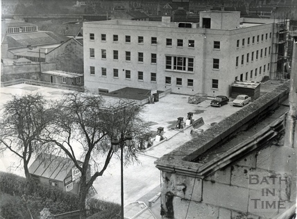 The newly built Police Station, Manvers Street 1966