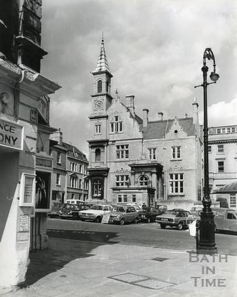 Bath bluecoat School, Sawclose c.1970s