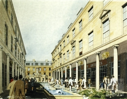 An improved environment? - Modifications to Bath Street, c.1980s?
