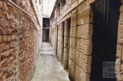 Passage between the Hot Baths and Beau Street Baths, 17 March 1992