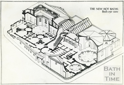 The proposed New Hot Baths 5 July 1988