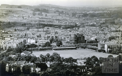 View of Bath from Sham Castle c.1930s