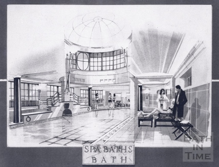 Interior of the proposed restored Beau Street Baths 28 May 1993
