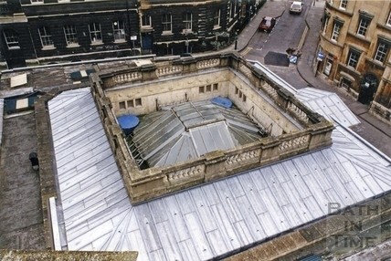 Birds Eye view of the Hot Bath, 7 Dec 1993