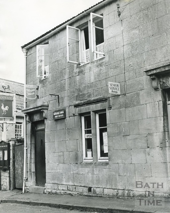 Monkton Combe Post Office, June 1970