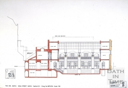 The Spa Baths - Beau Street Baths Section c.1989