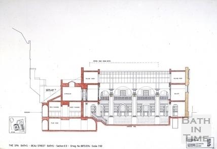 The Spa Baths - Beau Street Baths Section c.1989