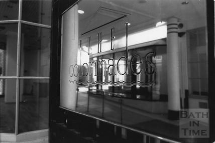 Entrance to the Collonades Shopping Centre, Bath Street April 1995