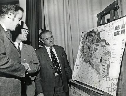 Oldfield Park District Plan public meeting, c.1965