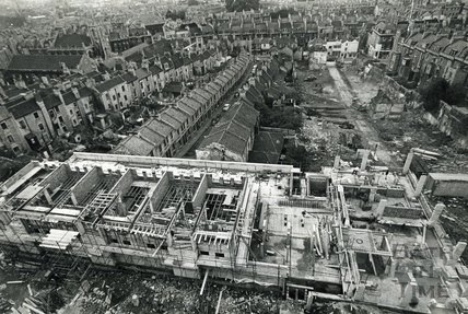 View over the Ballance Street Development Site, c.1971