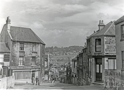 Looking down Holloway in the 1960s