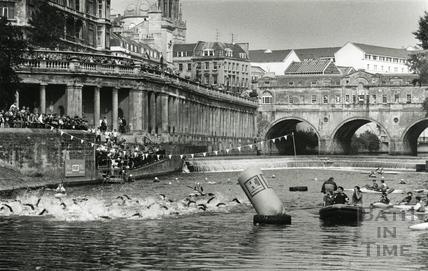 Bath Triathlon, September 1993