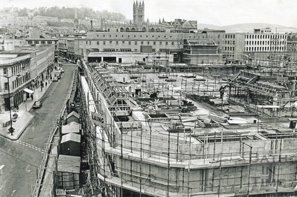 The Southgate Centre and Southgate Street, 1973