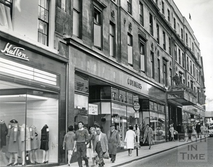 Colmers Department Store, Union Street, September 1962
