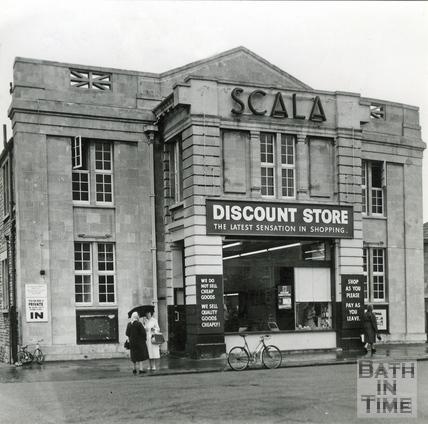 The Scala in Oldfield Park, November 1962