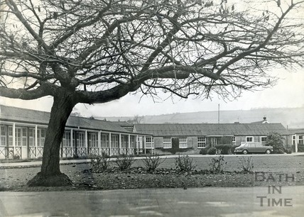 The Forbes Fraser Hospital, on the site of the Royal United Hospital, Combe Park, December 1968