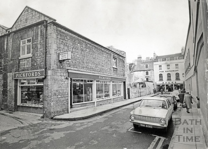 Pickfords Travel Agents, Abbeygate Street c.1960s