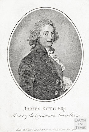 James King Esqr, Master of the Ceremonies, Lower Rooms, 1786