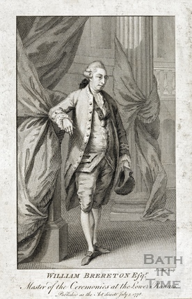 William Brereton Esqr, Master of Ceremonies at the Lower Rooms, 1778
