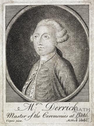 Mr Derrick, Master of Ceremonies at Bath