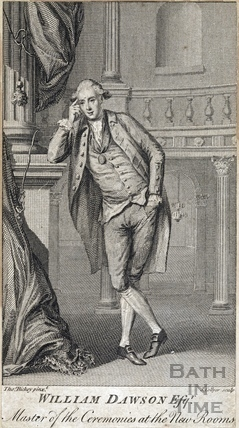 William Dawson Esqr, Master of the Ceremonies at the New Rooms, 1779
