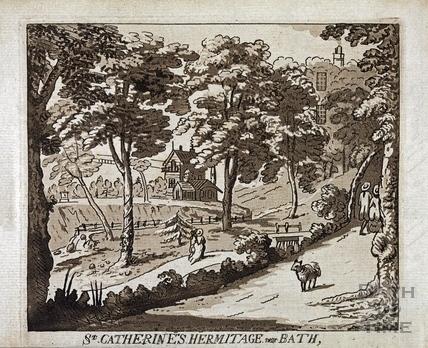 St Catherine's Hermitage near Bath c.1787