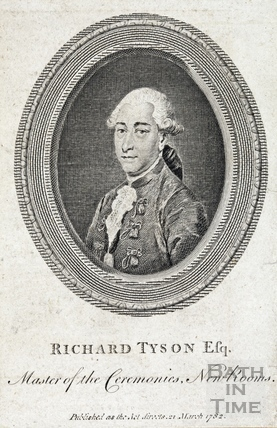 Richard Tyson Esq., Master of the Ceremonies, New Rooms, 1782