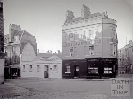 Saw Close, Lee's Fish, Chip & Oyster bar c.1930