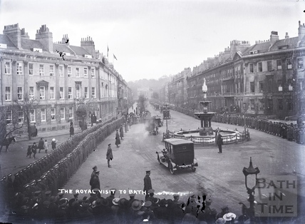Royal Visit to Bath, Nov 1917
