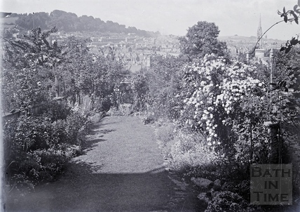 Back Garden, probably Sydney Buildings, c.1920s