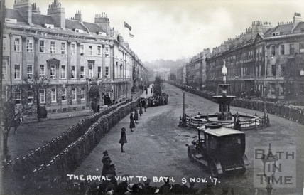 The Royal Visit to Bath, 9 Nov 1917