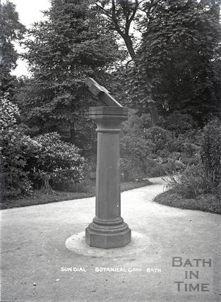 Sundial, Botanical Gardens c.1920s