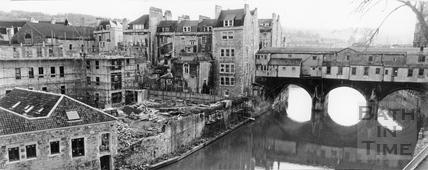 The Grove Street riverside development, 26 January 1981