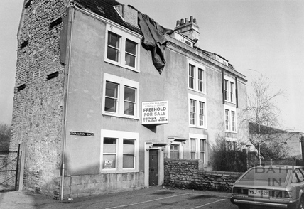 Charlton Buildings, Lower Bristol Road, 17 Dec 1990