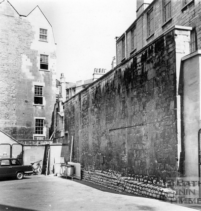 The City Wall, Orchard Street, 13 Sept 1977