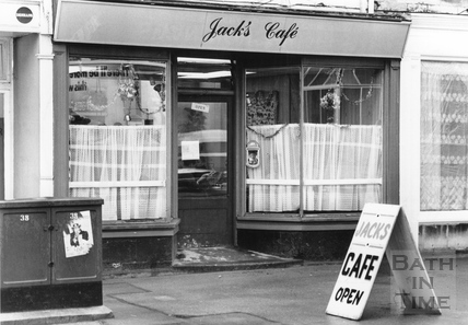 Jack's Cafe, Lower Bristol Road, 24 Aug 1989