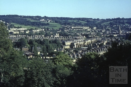 View from Camden Crescent, looking south, 1965
