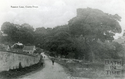 Summer Lane, Combe Down, c.1900