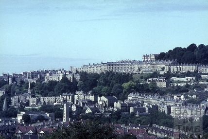 View towards Camden Crescent from the Warminster Road 1965
