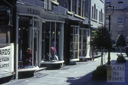 Old Bond Street, looking North 1965