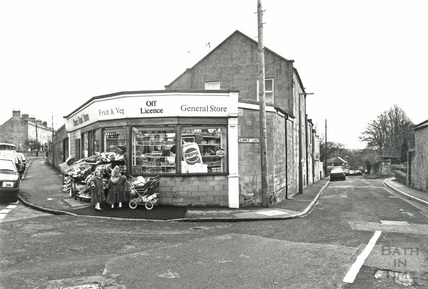 Church Road Stores, Combe Down, c.1980s