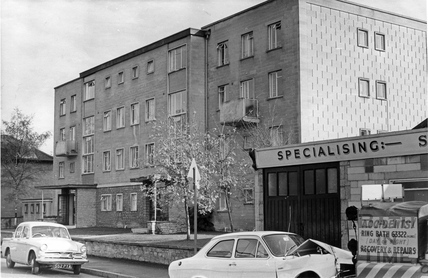 Flats on St Johns Road 1969