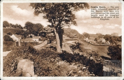 Combe Down, Summer Lane c.1910