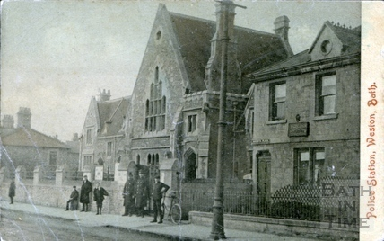 Police Station, Weston 1908