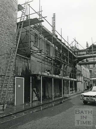 View down Swallow Street, Oct 1972
