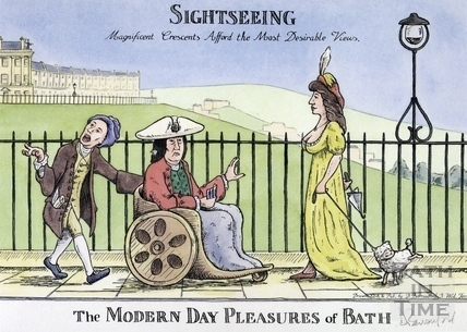The Modern Day Pleasures of Bath