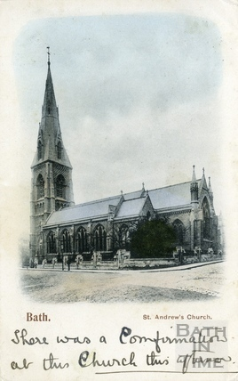 St Andrews Church, Julian Road, Bath, c.1905