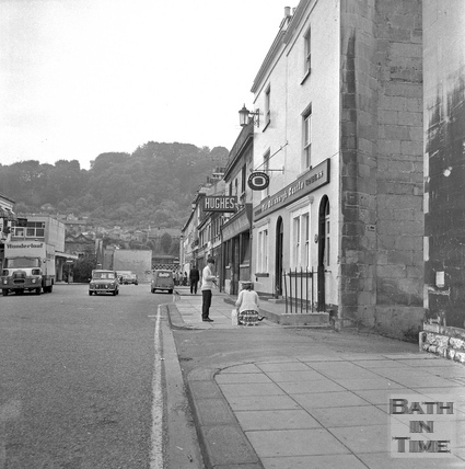 Newark Street looking south, 20 July 1971