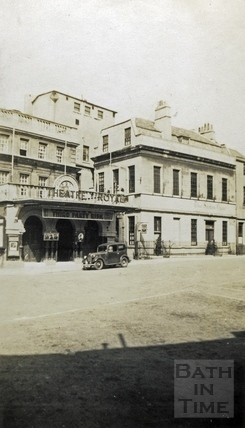 Theatre Royal entrance, Saw Close c.1920s
